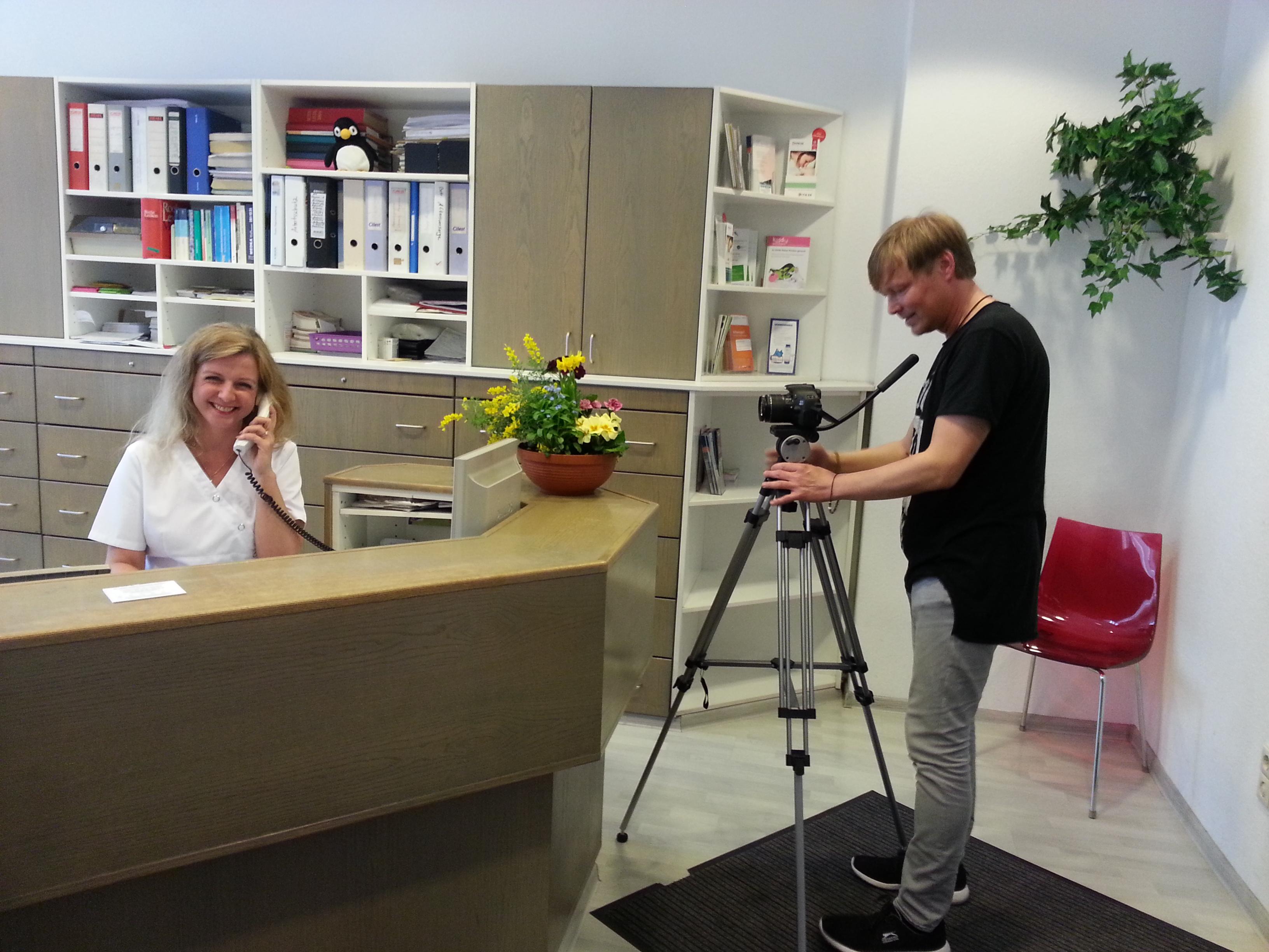 Videoproduktion bei Dr.Greiner Berlin